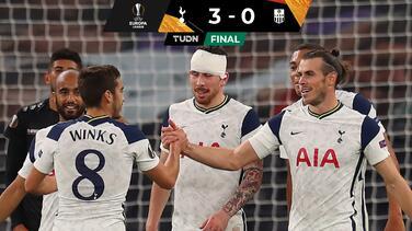Con Bale en la cancha, Tottenham gana 'caminando' a LASK
