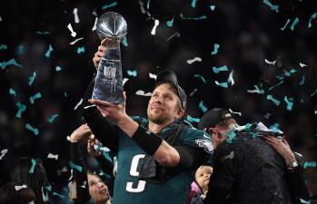 En fotos: El festejo de Philadelphia Eagles: Campeones del Super Bowl LII