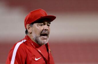 El complejo trayecto de Diego Armando Maradona en su faceta como entrenador