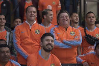 Original foto oficial para el Clausura 2019 de las Águilas del América