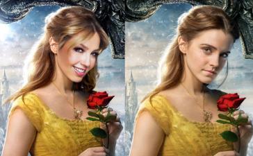 Thalía recuerda a su personaje de Rosalinda con Emma Watson en Beauty and the Beast