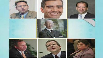 Análisis de los siete miembros de la junta de control fiscal