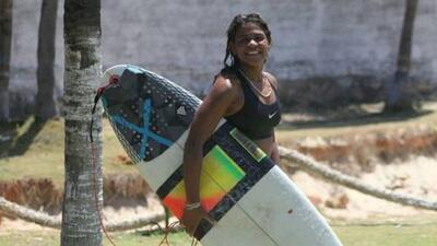 Fallece surfista brasileña a consecuencia de un rayo