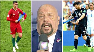 "El 'Perro' Bermúdez abrió la herida: ""Cristiano Ronaldo 3 Messi 0"""