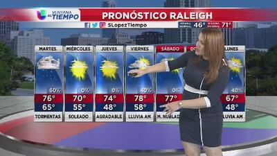 Continúa la lluvia el martes 9 de abril, pero llega el sol el miércoles