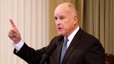 Gobernador Jerry Brown rinde su último informe de gobierno para California
