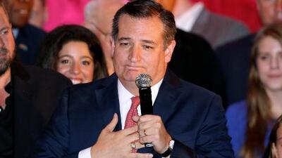 """""""Que Dios bendiga a Texas"""", las primeras palabras de Ted Cruz tras ganarle a Beto O'Rourke"""