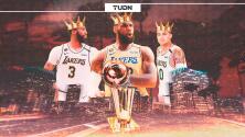 Un guiño al cielo... LeBron y Lakers campeones de la NBA y cumplen promesa a Kobe Bryant