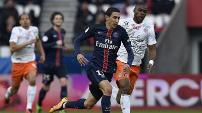 El París Saint-Germain no pudo romper el cero ante el Montpellier en la Ligue 1