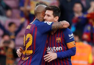En fotos: Barcelona se sacudió de su eliminación en Champions con victoria contra Getafe