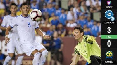 La Selecta vence a Barbados y suma segundo triunfo en la Concacaf Nations League