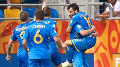 En fotos: con suspenso, Ucrania derrotó por 1-0 a Italia y se metió en la Final del Mundial Sub-20