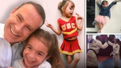 Michelle Tacher ya le sigue los pasos a sus hermanos en los deportes: así se divierte bailando y practicando karate