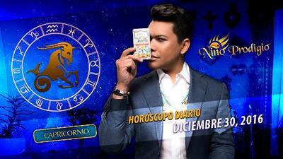Niño Prodigio – Capricornio 30 de diciembre, 2016