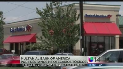 Multan a Bank of America