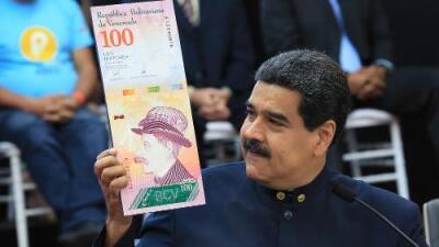 Maduro le quita tres ceros a la moneda venezolana en un intento por frenar la desbocada inflación