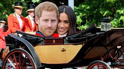Conoce la carroza nupcial de Meghan y Harry