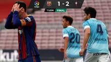 ¡Fracaso culé! Barça dice adiós a LaLiga ante el Celta de Araujo