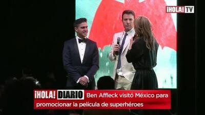 Ben Affleck hablando español