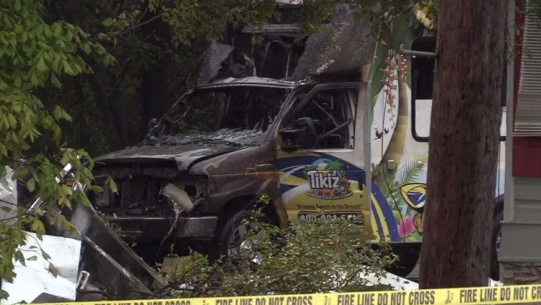 Explosión en San Marcos deja ventanas rotas y destruye varios camiones de comida - Univision