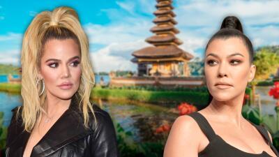 """Khloé Kardashian quiso golpear a su hermana Kourtney en la """"maldita boca"""" después de una discusión"""