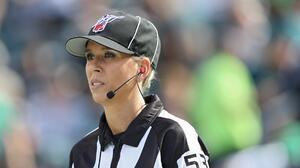 Sarah Thomas será la primera oficial mujer en un Super Bowl