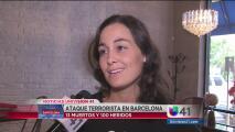 Comunidad española de San Antonio lamenta los sucesos de Barcelona