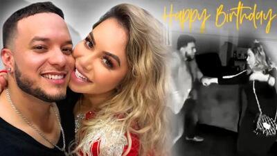 Con este romántico video Chiquis Rivera le desea feliz cumpleaños a Lorenzo Méndez (y lo hace llorar)