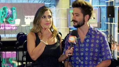 Camilo prepara una sorpresa para Premios Juventud (y queríamos saber si tiene que ver con su novia Evaluna)