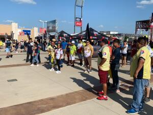 En fotos: El partido Águilas del América y los Pumas de la UNAM en Frisco