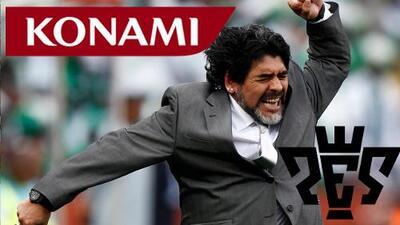 Maradona a Konami: ¡Te vas a comer un juicio millonario!