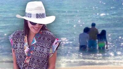 Karla Martínez consintió a su esposo con un viaje para celebrar el Día del Padre