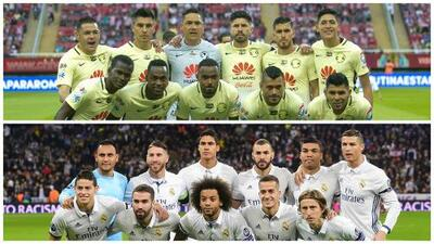 América vs. Real Madrid, un duelo de invictos