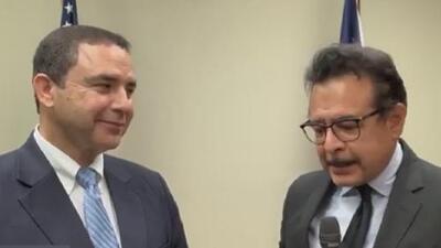 Henry Cuellar resume los temas analizados durante un encuentro con funcionarios