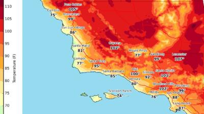 Una peligrosa ola de calor está por llegar al sur de California