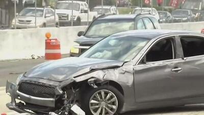 Policía arresta a un joven que estaría involucrado en un accidente con auto reportado como robado en Palmetto