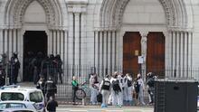Al menos tres muertos deja un ataque con arma blanca en una iglesia en Francia