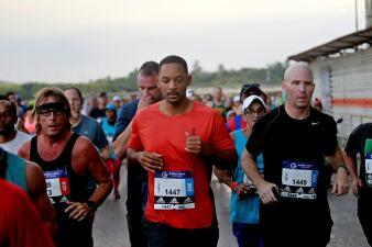 En fotos: Will Smith fue protagonista en la Maratón de La Habana