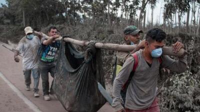 Al menos 69 muertos deja la fuerte erupción del volcán de Fuego en Guatemala