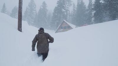 ¿Esquiar hasta el mes de julio? En California será posible tras las fuertes nevadas