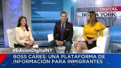 Boss Cares: una plataforma de información para inmigrantes