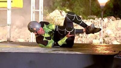Julio Camejo compitió (¿lesionado?) y se fue de Reto 4 Elementos: esta fue su eliminación