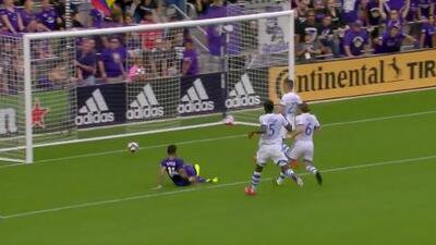 Dom Dwyer hace el gol de la honra y Orlando acorta el marcador 1-3 ante Montreal Impact