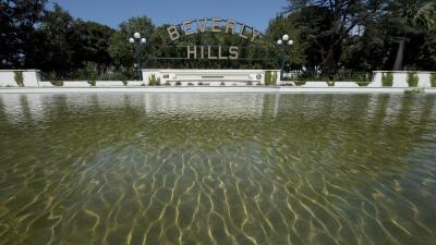 La ciudad de Beverly Hills se pone seria para que sus millonarios ahorren agua