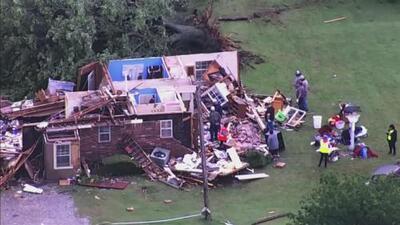 Fuertes tornados azotan a Oklahoma y Texas: el panorama de destrucción es desalentador