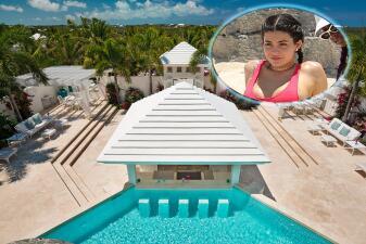 Fotos de la mansión en la que Kylie Jenner pasó sus vacaciones