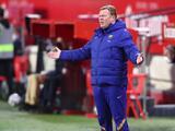 Decepciona a Ronald Koeman más empate ante Cádiz que derrota contra PSG