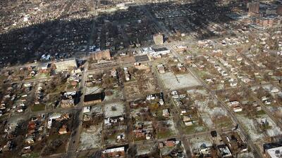 La verde fórmula de Detroit para enfrentar inundaciones