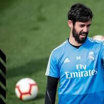Isco regresa a los entrenamientos del Real Madrid