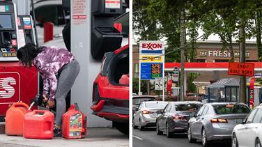Gas Buddy: 65% de las estaciones de servicio siguen sin gasolina en Carolina del Norte